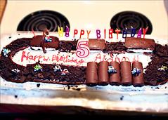 Dirtbike Track Cake (Kaditty) Tags: birthday cake baking dirtbike