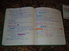 Daily Show Tape -> DVD Notebook (Look In The Tunk) Tags: thedailyshow highlighters dailyshow morocca vancedegeneres stevecarell notebookism