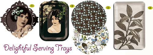 delightful serving trays