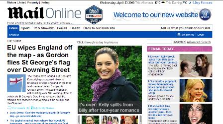 Daily Mail beta site