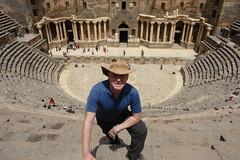 The Roman Ampitheatre (CharlesFred) Tags: peace syria hospitality siria honour  syrien syrie bosra suriye  syrianarabrepublic    bosrasham shoufsyria    welovesyria aljumhriyyahalarabiyyahassriyyah siri