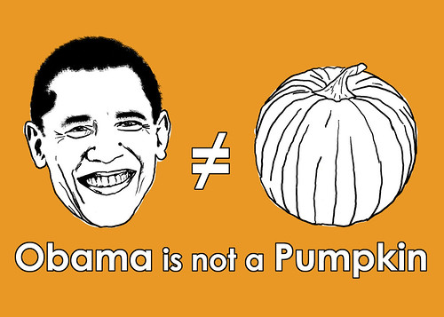 Obama is not a Pumpkin