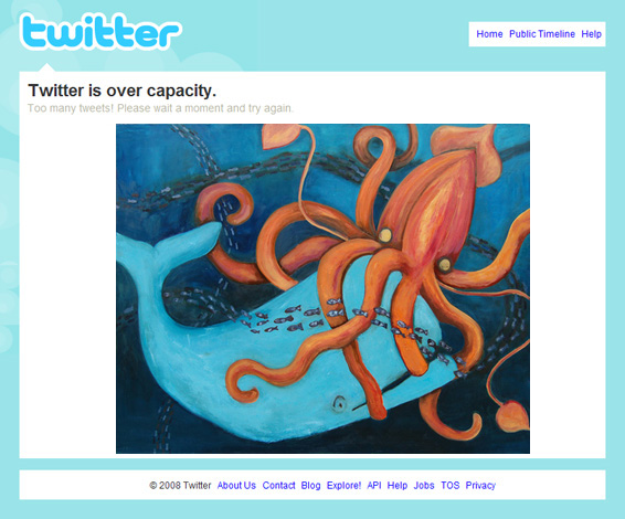 Twitter is Over Capacity I
