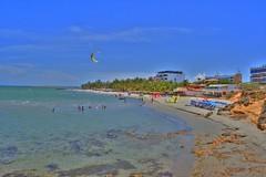 El Yaque Beach (jmven) Tags: blue sea sky beach canon de rebel mar venezuela playa el margarita isla hdr yaque xti platinumphoto