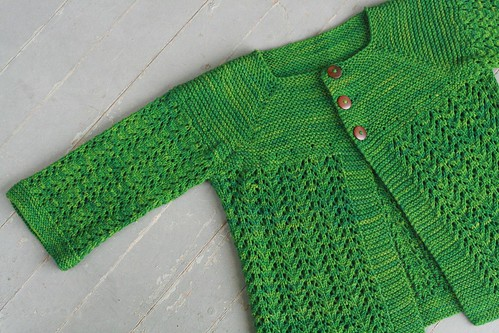 february lady sweater by flint knits.