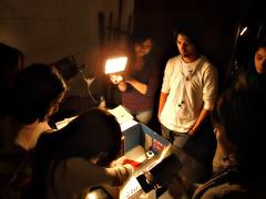 Iluminando la escena