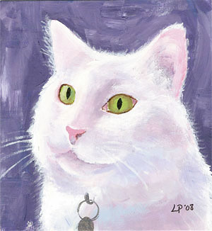 Libby's portrait of Nilla!