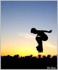 Skate no por-do-sol (eduhhz) Tags: pordosol rio preto skate entardecer pfo duetos photofaceoffwinner pfogold