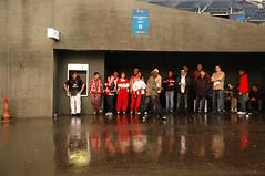Basel (Switzerland) - Fans in the Rain (Danielzolli) Tags: turkey foot schweiz switzerland football fussball suisse suiza bs swiss soccer europameisterschaft trkiye basel trkei suia helvetia svizzera em futbol futbal sveits calcio isvicre lefoot elvetia basilea europeanchampionship basl em08 jalgpall ble svizra schutte szwajcaria fubol pilkanozna euro2008 bazilej svycarsko svajciarsko euro08 tschutte zvicer europameisterschaft2008 mistrzostwaeuropy campeonadodeeuropa championateuropen kubokeuropy poharevropy pohareuropy jalkopallo isvicretrkiye schweiztrkei