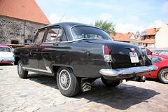 GAZ 21 Wolga - Russian Sedan (nick-m) Tags: auto cars germany vintagecar oldtimer 2008 vintagecars wolga saxonyanhalt sachsenanhalt gaz21 wolmirstedt tourderromanik gaz21wolga