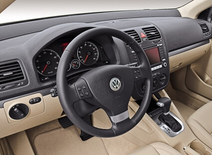 VW Jetta TDI interior