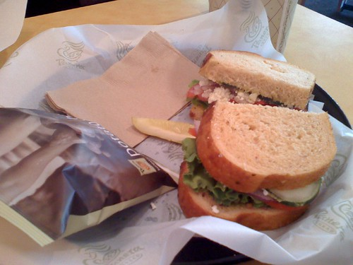 Sandwich @ panera in boca raton
