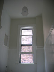 bathroom / wainscoting (Anna @ D16) Tags: white window bathroom victorian myhouse renovation rowhouse beadboard wainscoting