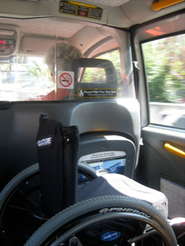 London taxi access