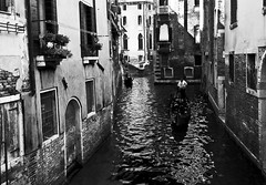 To Velentina for her Birthday (JA say...) (fabio c. favaloro) Tags: old venice blackandwhite bw italy nikon bn venezia bianconero biancoenero gondole d300 canali allrightsreserved nikond300 fabiocfavaloro theemptyplaces