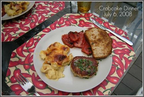 Crabcake Dinner