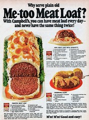 Meatloaf Recipes - 1968 (Vintage Dish) Tags: food vintage magazine recipe 1968 campbells meatloaf