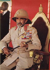 Emperor Haile Selassie (royalist_today) Tags: monarch 1975 ethiopia royalty monarchy throne emperor sovereign haileselassie monarchists monarchist
