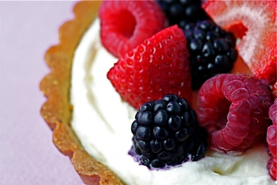 tartlet close-up