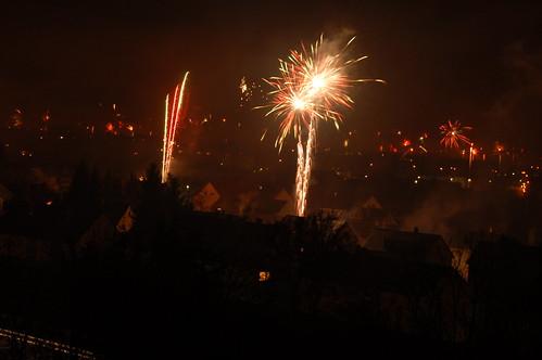 Feuerwerk - Neujahr 2008 (by BlaM4c)
