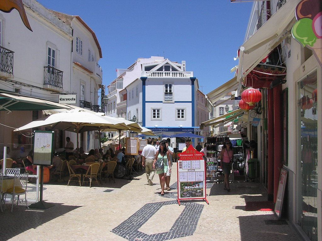 Center of Lagos Portugal