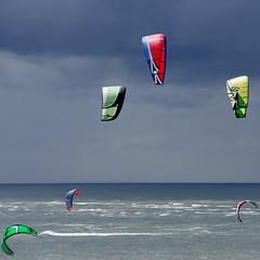 Kites (Cybergabi) Tags: clouds square rotterdam kites explore northsea maasvlakte 5f gettyvacation2010 gettyimagesbeneluxq1