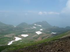桂月岳と黒岳