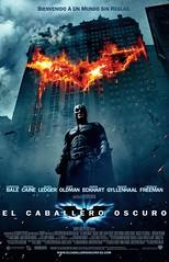 Póster español de El Caballero Oscuro Batman