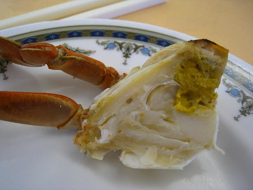 My piece of cold crab @ Singapura Restaurant