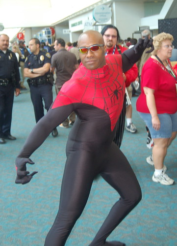 Comic Con 2008: Black Spiderman
