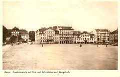 Friedrichsplatz (Dan Brekke) Tags: kassel worldwarii wwii bombing bombdamage germany