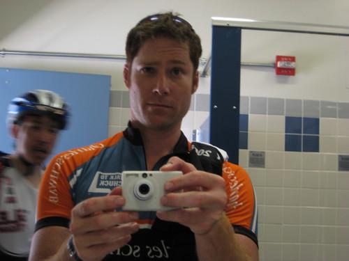 Post-Ride Self-Portrait