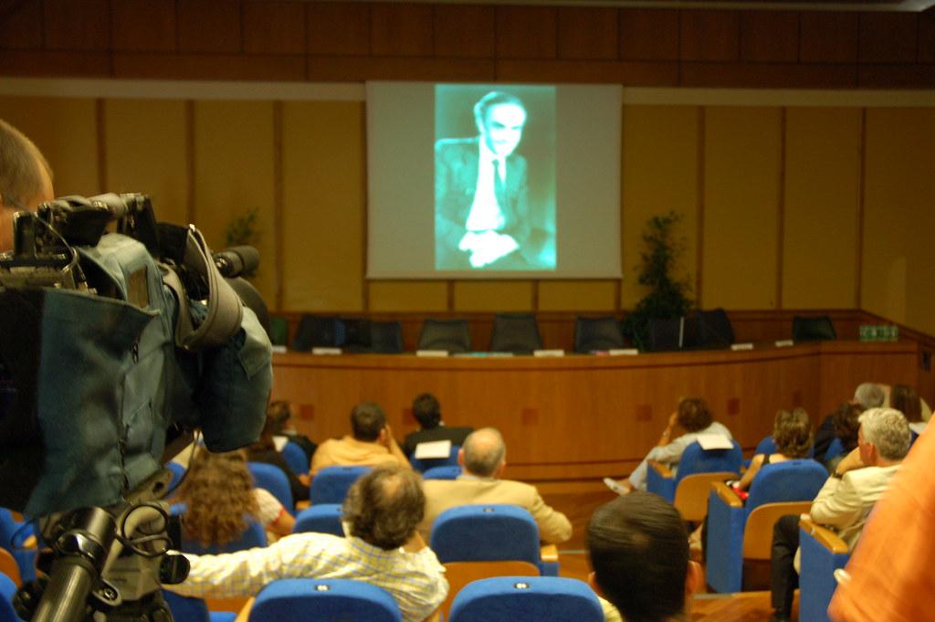 Prima presentazione del libro Cocaina Connection; al Consiglio regionale del Lazio - Sala Mechelli del 24 luglio 2007.