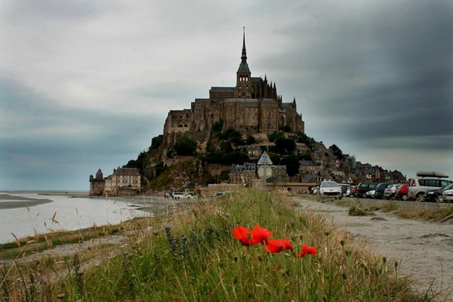 Mont Saint-Michel Papaver