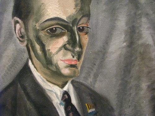 Salvador Dali Retrat de Juan Torres 1920