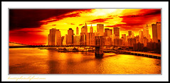 NYC Skyline (TLC Fotografie) Tags: new york bridge sunset skyline brooklyn evening artcafe golddragon colorphotoaward aplusphoto diamondclassphotographer flickrdiamond theunforgettablepictures worldglobalaward globalworldawards artcafedomidoexhibitionscomein