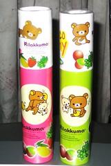 Yummy Rilakkuma Gummy (Raewadolly Shop) Tags: orange fruit yummy strawberry candy sweet kawaii blackcurrant grape gummy rilakkuma sanx lemn raewa raewadolly