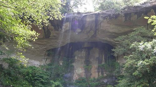 46.琵琶洞瀑布 (2)_陽台式的瀑布