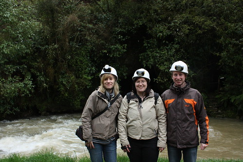 Weg zu den Waitomo Caves