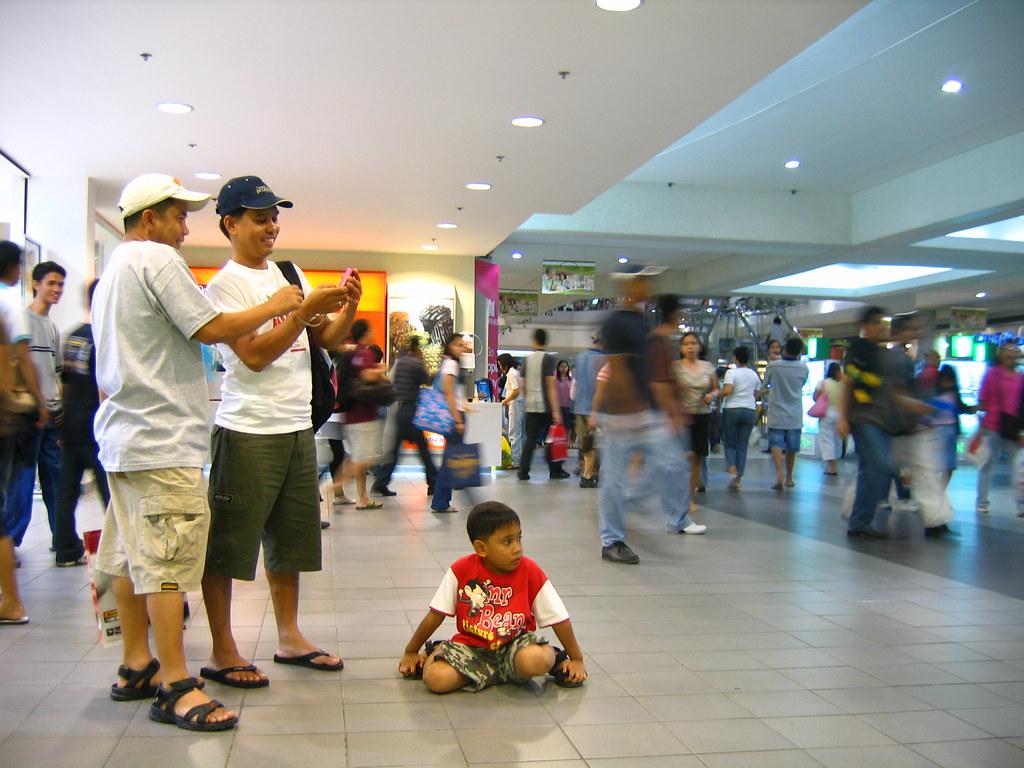 Inside SM City North Edsa
