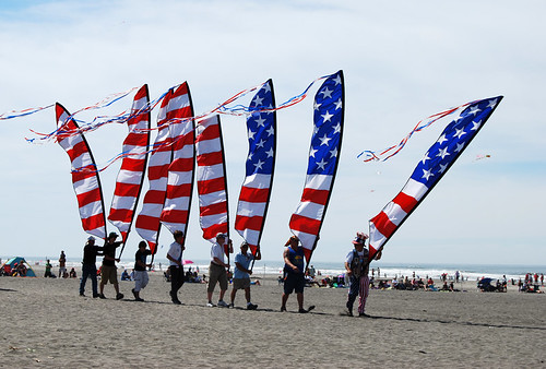 43-American Flag Banners