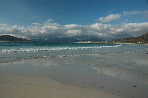 North Harris from Traigh Sheileboist