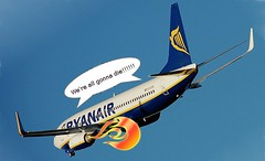 Ryanair Flight Plunging (Not Really)