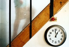 scared of what lives above (morning lord) Tags: clock t time superia contax scales fujifilm gita 400asa equilibrium planar equilibrio bruny analogic carlzeiss 50mmf17 139q diecicento diecicentopeople morninglord valdapozzo davidegreco diecicentosagra