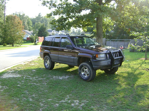 1997 Jeep Grand Cherokee Laredo Lifted Re Enforce Frame Dodge W 6