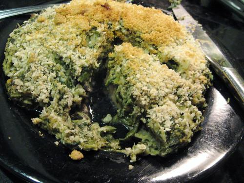 Stuffed Portobello with Spinach and Artichoke Hearts