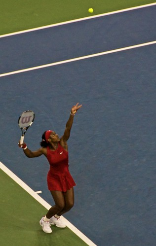 Serena on the Serve!