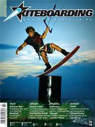 Cover of Kite-boarding Magazine