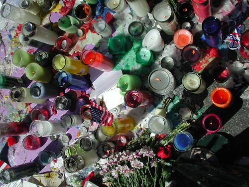 9/11 memorial candles