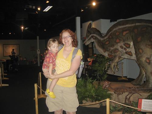 dinosaurs exhibit